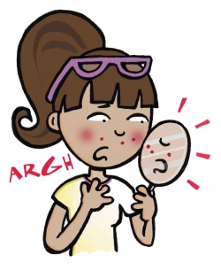 acne-cartoon